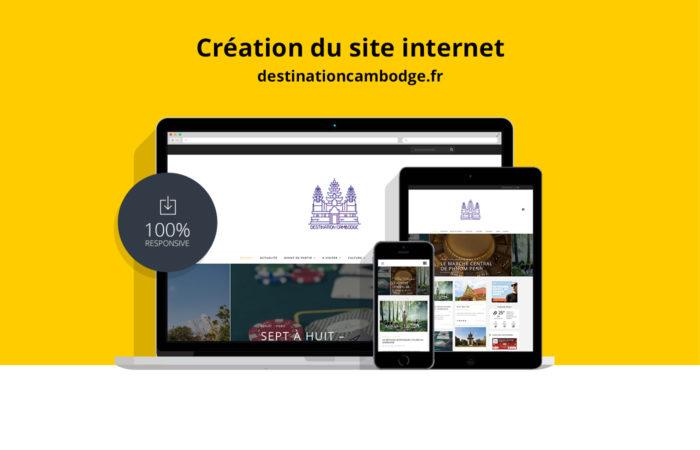 Création du site destinationcambodge.fr